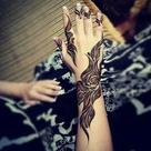Henna On Palm