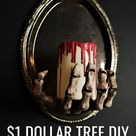 Make This Dollar Tree Halloween DIY For Only $3!