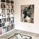 Wie Du Individuelle Abstrakte Kunst in Deine Einrichtung zuhause einsetzen kannst! contemp-rent
