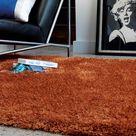 Hoogpolig vloerkleed Easy Living Diva Orange - 200x300 cm