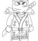 Ninjago Lloyd Green Ninja ZX coloring page | Free Printable Coloring Pages