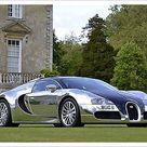 Print of Bugatti Veyron Pur Sang , 2009, Silver chrome , & black
