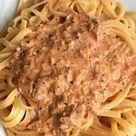 Spaghetti mit Thunfisch - Sahne - Soße von CharmedWitch036   Chefkoch
