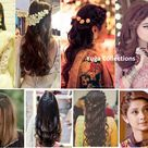 20 Best and Beautiful  Indian Bridal Hairstyles for Engagement & Wedding
