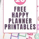My Top 10 Free Happy Planner Printables