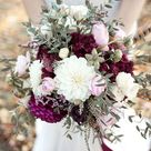 Bohemian Hochzeitsinpiration in Beerenfarben und Marsala   Hochzeitswahn   Sei inspiriert