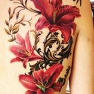 35 Pretty Lily Flower Tattoo Designs - For Creative Juice