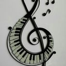 Barbara Dobbs  Quilled treble clef pictures Searched by Châu Khang