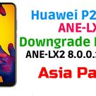 Huawei P20 Lite ANE-LX2 Firmware Downgrade (Asia Pacific) - Ministry Of Solutions