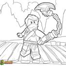 Ninjago Lloyd Coloring Pages Picture