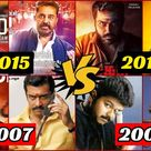 40 Complete South Indian Kollywood Diwali Clash Movies List | Tamil Diwali Movie