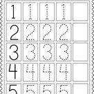 Free Printable Kindergarten Math Worksheets – Counting Number for Kids - Edukidsday.com