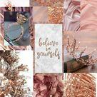 Rose Gold Asthetic Wallpaper