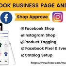I will set up Facebook and Instagram shop integrate with Shopify