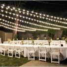 Backyard Tent Wedding