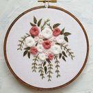 Hand embroidery pattern - Embroidery pattern - Embroidery designs - Embroidery hoop - Beginner embroidery pattern - cupofneedles