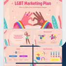 LGBT Marketing Plan Google Slides and PowerPoint template