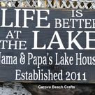 Lake House Signs