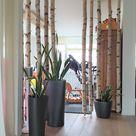 ▷ 1001+ Ideen für kreative Birkenstamm Deko für Ihre Wohnung