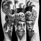 Pirate Girl Tattoos
