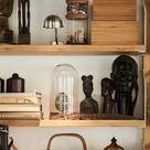 3 shelves for different interests
