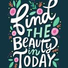 Find The Beauty Art Print - 11x14