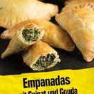Empanadas mit Spinat und Gouda
