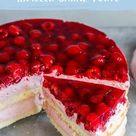 Himbeer-Sahne-Torte – einfaches Rezept | Die besten Backrezepte mit Gelinggarantie