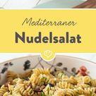 Mediterraner Nudelsalat