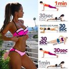 Slim Your Waist And Sculpt A Strong Defined Core With 6 Side Plank Variations - GymGuider.com