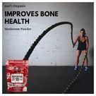 141 SUPERFOOD 10 Organic Mushroom Powder Extract Supplement  USDA  Add to Coffee/Drinks 60g