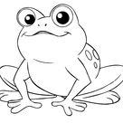 7 Besten Frosch Ausmalbilder - Ausmalbilder Für Kinder Lernen