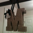 Twine Wrapped Letters