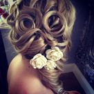 Wedding Hair Half