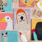 Bean Art Animals Inspired by Dolittle | Handmade Charlotte