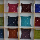 Beautiful moon and star design throw pillow cover soft   Etsy