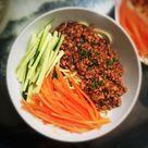Zha Jiang Mian Fried Sauce Noodles  炸醬麵