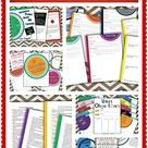 Interactive Student Binder and Portfolio 7-12 ELA!