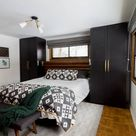 Modern Master Bedroom with Wardrobes