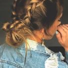 20 Easy And Quick Back To School Girl Hairstyle 2020 - VivieHome