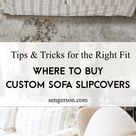 Custom Made Sofa Slipcovers - Where to Buy and A Review of the Best Place to Purchase Couch Cover
