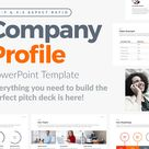 FREE POWERPOINT TEMPLATE - COMPANY PROFILE PITCH DECK