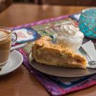 Apple pie and coffee at The Ship - Nerja Rob