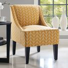 Charlotte Swoop Arm Accent Chair   Kohls