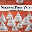 Halloween-Baiser-Geister - Süßes oder Saures - Schnin's Kitchen