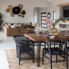 LEADWOOD African safari interiors open plans dining Weylandts