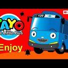 cara menggambar mobil bus tayo dengan mudah dan mewaranai gambar mobil mobilan tayo