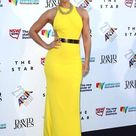 Alicia Keys in Tight Yellow Dress