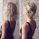 15 Hochsteckfrisur Frisuren für Kurze Haare Alternativen   Frisuren für Haa...
