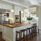Stilvolle und inspirierte Ideen und Designs für die Kücheninsel auf dem Bauernhof (49) - Home...